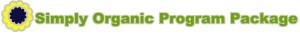 Simply organic program banner