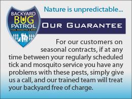 Backyard Bug Patrol Guarantee