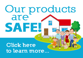 Our Product Safety Banner