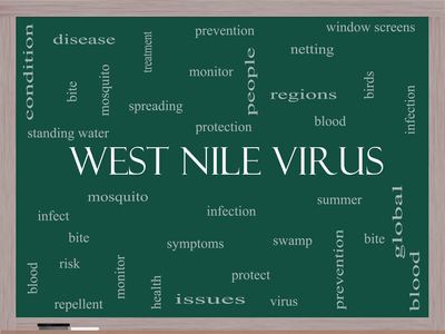 west nile virus beallsville md